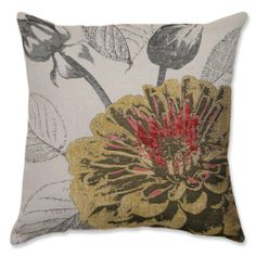 "18"" Yellow and Gray Summer Cottage Square Decorative Throw Pillow CC Home Furnishings,http://www.amazon.com/dp/B00JLONGHU/ref=cm_sw_r_pi_dp_CASvtb13C7NNP1N1"