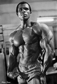 Serge Nubret's Old School Training Routine