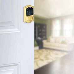 (New Model) Schlage Connect Camelot Touchscreen Deadbolt with Z-wave T
