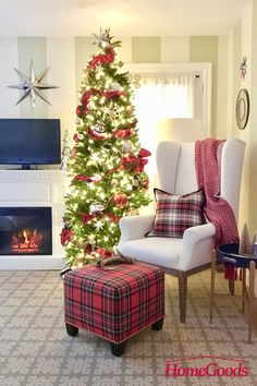 Dont forget to decorate your bedroom this Christmas. Layer on the coziness with . Realistic Christmas Trees, Slim Artificial Christmas Trees, Very Merry Christmas, Christmas Love, Christmas Ideas, Holiday Ideas, Christmas Wishes, Christmas Inspiration, Holiday Fun