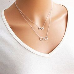 Delicate Yoga Om and Lotus Pendant Link Chain Necklace, Silver Color – Mystical Voyager