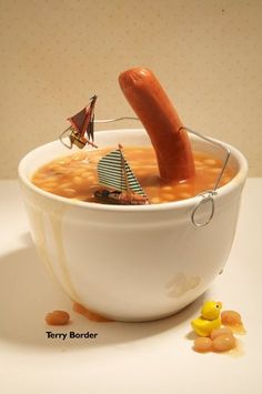 I do not like hotdogs, and I do not like beans. But I like this.