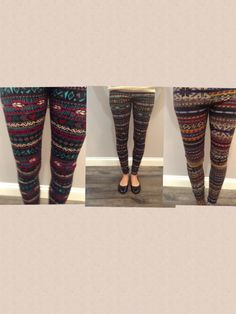 perfect time for printed leggings  $25