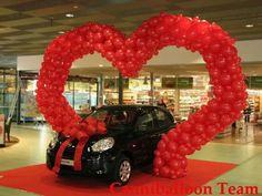 Hh Balloon Display, Balloon Backdrop, Balloon Columns, Valentine Decorations, Balloon Decorations, Wedding Decorations, Balloon Ideas, Baloon Art, Pink Trees