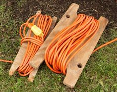extension cord storage idea. cut out of left over mdf or 1 x 4's?