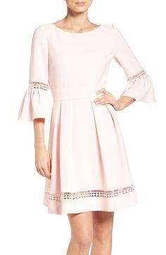 Eliza J Bell Sleeve Dress (Regular