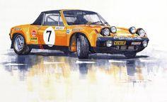 Porsche 914-6 GT Rally