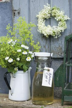 Elderflower juice/lemonade