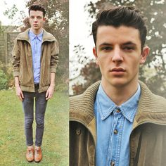 Olive Grove (by Ian Richardson) http://lookbook.nu/look/4228017-Olive-Grove