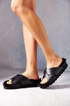 5f282f256731 Silence + Noise Cleo Slide Sandal Retro Sneakers