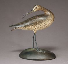Whimbrel, Elmer Crowell