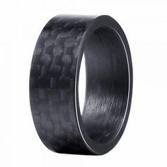 8 mm Arc-en-Spinner Chaîne Bande Homme Acier Inoxydable Cadeau Mariage Anneau Taille 7-12