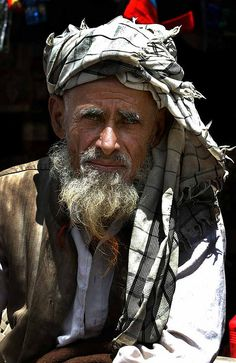 Man from Kashmir, India