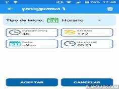 RiegoApp  Android App - playslack.com ,  Ahora es mucho más fácil acceder a tu sistema de riego cuándo quieras y dónde quieras.RiegoApp es la plataforma de programación de riegos para dispositivos móviles que te permitirá más movilidad.El sistema cuenta con un potente modelo que permite la integración de dos tipos de programadores: Programador estándar iRiego y Programador Agronic.La app permite:Control de varios programadores desde una sola appConfigurar riegos futurosVer el consumo y la…
