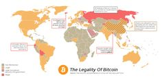 The Legality of Bitcoin in Different Parts of the World.