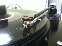 Breaking in the Clearaudio Goldfinger Statement phono cartridge on an AMG Viella 12 Turntable w/ 12J2 tonearm.
