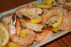 Fleur de Lolly: Lemon Garlic Shrimp
