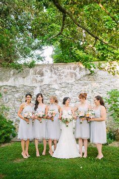 Lavender Chiffon Bridesmaid Dresses