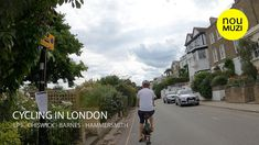 Cycling in London - EP.5 - Chiswick - Barnes - Hammersmith - YouTube Cycling In London, Bridge, Street View, Youtube, Bridge Pattern, Legs, Youtubers, Youtube Movies, Attic Rooms