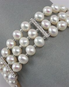 J.V/énus Boucles doreilles en perle deau douce et argent sterling 925