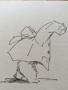 Peggy Fortnum illustration for Michael Bond's 'A bear Called Paddington'