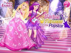 Barbie Princess and The Popstar - Game Tutorial 2016