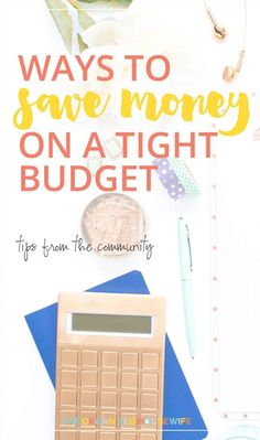 Here are some tips from the community on ways to save money on a tight budget. I hope you find some that you can try. Financial Organization, Bill Organization, Budgeting Finances, Budgeting Tips, Ways To Save Money, Money Saving Tips, Organised Housewife, Living On A Budget, Create A Budget