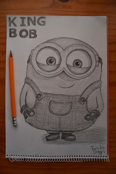 How to Draw Bob the Minion with