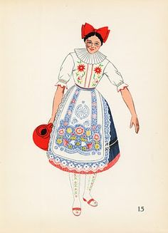 Costumes Hungary, Kalocsa 1939