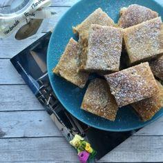 Recept: Glutén-, tej- és cukormentes kókuszkocka   Stop Sugar Pavlova, Cornbread, Sugar, Tej, Ethnic Recipes, Dios, Millet Bread, Corn Bread