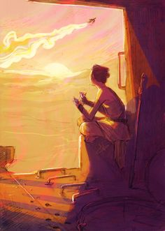 Science Fiction! - norhuu:   Been thinking about how much time Rey...