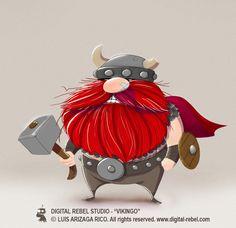 Hehe!!! He is sooo cute!!! I just love vikings! !!!!