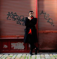 #style #fashion #trench coat #europe #prague #ghanaian #blogger See The Sun, Orange Shirt, Boy Photos, Prague, Bright Colors, Trench, Colorful Shirts, Style Fashion, Europe