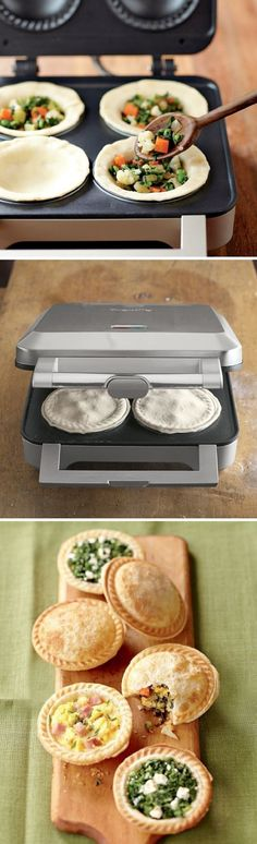 Personal Pie Maker.....I want one!!! I know what I'm asking for this your for my birthday.