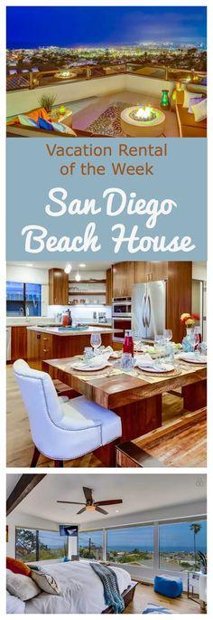 Vacation Rental of the Week - San Diego Beach House