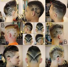 These Guys are Pros! Go check em Out Check Out for 57 Ways to Build a Strong Barber Clientele! Hair And Beard Styles, Short Hair Styles, Natural Hair Styles, Dreadlock Hairstyles, Boy Hairstyles, Short Hair Shaved Sides, Buzzed Hair, Shaved Hair Designs, Faded Hair