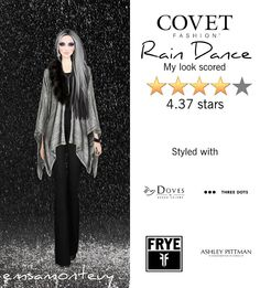 Rain Dance @covetfashion #covet #covetfashion #covetfashionapp #fashion #covetfall2015 #fall2015 #womensfashion #raindance #threedots #rachelzoe #ashleypittman #isharya #brooklynheavymetal
