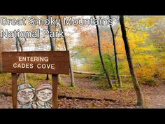 Cades Cove Fall Colors Tour Great Smoky Mountains National Park Tennessee - YouTube