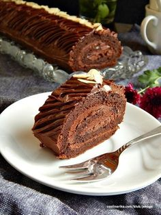 Cake Roll Recipes, Dessert Cake Recipes, Sweet Desserts, Easy Desserts, Sweet Recipes, Delicious Desserts, Baking Recipes, Cookie Recipes, Low Carb Brasil