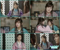 so hoo sister come to see ban ryu and ignore So hoo -  Hwarang: Episode 10