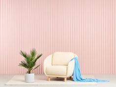 Joanna Laajiston suunnittelema Bobo Buklee -nojatuoli. Workplace Design, Commercial Interiors, Goods And Services, Scandinavian Style, Floor Chair, Sofas, Modern Design, Armchair, Upholstery