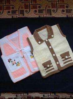 Baby Cardigan Knitting Pattern Free, Baby Boy Knitting, Baby Knitting Patterns, Knitting Designs, Pullover Design, Sweater Design, Punjabi Suits Designer Boutique, Moda Emo, Knit Baby Sweaters