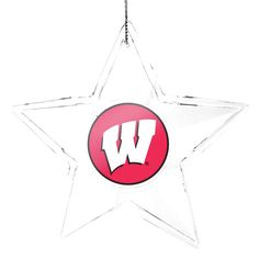 Wisconsin Badgers Star Ornament - $5.59