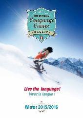 ILC-BrochureWINTER_2016-v2(1) Teaching Programs, English Language, Camping, Activities, Summer, Fun, Campsite, Summer Time, English People