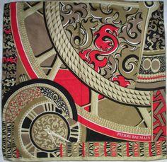 25472d04d5ea 26 meilleures images du tableau foulard en soie Pierre Balmain ...