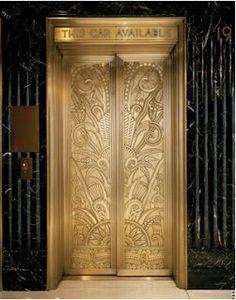 Puertas de ascensor Art Dèco