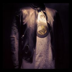 Scott Campbell ltd edition leather jkt by PirelliPzero and Dainese