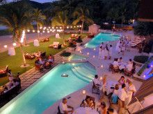 The Beach Club And Restaurant Bar In Playas Del Coco Costa Rica Is Perfect