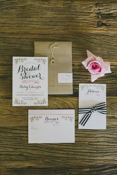 Bridal Shower Inspiration by Ashdown and Bee