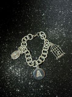 ♥Un tuffo in epoca vittoriana... bracciale silver e charms personalizzati....grazie Astou per aver scelto un'ideazione ColCuore♥ #creatività #creation #handmade #personalizzato #personalized #silver #bracelet #bracciale #faidate #fairytale #charms #bracciale #fantasy #fantasia #pandora #pendenti #pendants #swarovski #zirconi #jewelry #jewellery #jewels #fattoamano #colcuore #style